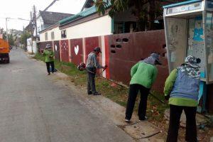 งานบริการรักษาความสะอาด เขต2 พัฒนาพื้นที่ซอยมหาชัย 21 ม.ค. 61