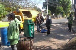 22-23ธ.ค.60ฃสน.การสาธารณสุขฯ ทำความสะอาดบริเวณริมถ.ช้างเผือก ถ.หลังโรงเรียนเคหะ, ศูนย์พัฒนาเด็กเล็กการเคหะและพื้นที่หลังเรือนจำ