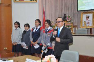 เปิดการประชุมผู้นำชุมชนในเขตเทศบาลนครนครราชสีมา ครั้งที่ 3 /2561