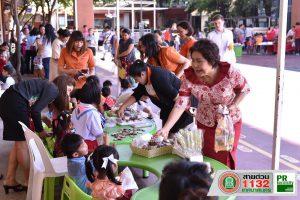 27ก.ย.61 โครงการ Kids Market เพื่อให้นักเรียนได้เรียนรู้ จากการซื้อขาย ณ โรงเรียนเทศบาล 3