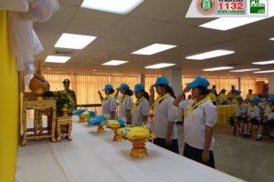28พ.ค.62 โรงเรียนเทศบาล2 เข้าร่วมลงทะเบียนจิตอาสาพระราชทาน และรับสิ่งของพระราชทาน ณ อาคารสุรพัฒน์ 2 มหาวิทยาลัยเทคโนโลยีสุรนารี