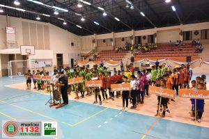 """4มิ.ย.62 การแข่งขัน """"กีฬาฟุตซอล"""" ตามโครงการแข่งขันกีฬาเยาวชนและประชาชนเทศบาลนครนครราชสีมา ประจำปี 2562"""