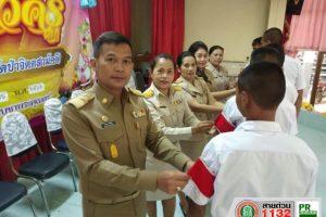 13 มิ.ย.62.โรงเรียนเทศบาล 5 (วัดป่าจิตตสามัคคี) ประธานพิธีเปิดกิจกรรมไหว้ครูประจำปีการศึกษา 2562