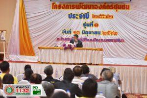 13มิ.ย.62 โครงการพัฒนาองค์กรชุมชนประจำปี 2562