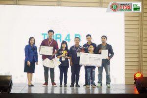 13ก.ย.62 โรงเรียนเทศบาล ๔ (เพาะชำ) ได้รับรางวัลรองชนะเลิศ อันดับ 2 การแข่งขันโอลิมปิกหุ่นยนต์ 2019 (WRO2019)