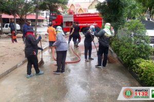 13 พ.ย.62 งานรักษาความสะอาด จัดชุดพัฒนาพื้นที่