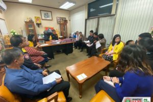 3 ธ.ค.62 ประชุมเร่งให้ความช่วยเหลือผู้ประสบเหตุเพลิงไหม้ตลาดใหม่แม่กิมเฮง