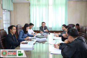 6 ธ.ค.62 ประชุมโครงการก่อสร้างโครงสร้างพื้นฐานเขต2