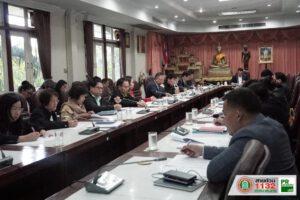 11 ธ.ค.62 ประชุมเตรียมการจัดทำแผนพัฒนาเทศบาลนครนครราชสีมาเพิ่มเติม