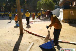 5 ธ.ค.62 งานรักษาความสะอาด จัดชุดพัฒนาลงพื้นที่