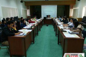 11 ธ.ค.62 การประชุมเตรียมการจัดทำแผนพัฒนาเทศบาลนครนคราชสีมา