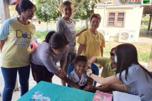 15 ม.ค.63 รณรงค์ฉีดวัคซีนป้องกันโรคหัด โรคคางทูม