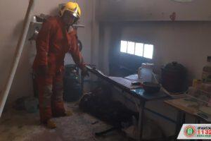 15 ม.ค.63 ประมวลภาพการระงับเหตุเพลิงไหม้