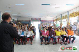 22 ม.ค.63 ประชุมประชาคมชุมชนนคร เพื่อพิจารณาร่างแผนพัฒนาเทศบาล