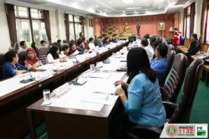 31 ม.ค.63 ประชุมคณะผู้บริหารและหัวหน้าส่วนราชการ