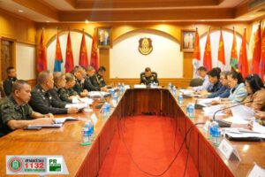 7 ก.พ.63 ประชุมเพื่อเตรียมการลงนามบันทึกข้อตกลงการยืมระบบประปาของกองทัพบกโดยกองทัพภาคที่ 2 ให้กับเทศบาลนครนครราชสีมา