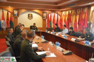 17 มี.ค.63 การบริหารจัดการระบบประปาภายในค่ายสุรนารี และค่ายสุรธรรมพิทักษ์