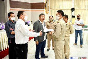 15 มิ.ย.63 ป้องกันและแก้ไขน้ำท่วมชุมชน