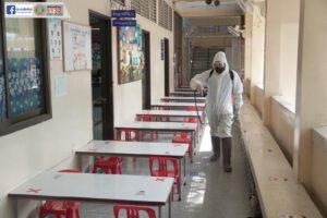 22 มิ.ย.63 ล้างโรงเรียน