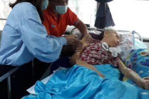 25 มิ.ย.63 ฉีดวัคซีนป้องกันไข้หวัดใหญ่ให้แก่ผู้ป่วย