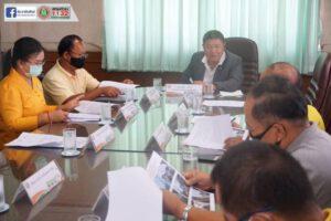 10 ก.ค.63 ประชุมคณะกรรมการศูนย์ช่วยเหลือประชาชนของเทศบาลนครฯ