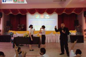 31 ก.ค.63 กิจกรรมโครงการป้องกันยาเสพติดในสถานศึกษา