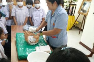 17 ก.ย.63 โครงการโรงเรียนส่งเสริมสุขภาพปี 2563