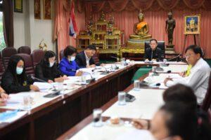 27 ต.ค.63 ประชุมคณะกรรมการติดตามประเมินผลแผนพัฒนาเทศบาลฯ