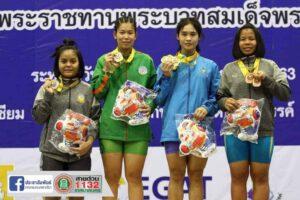 17 พ.ย.63 รับรางวัลแข่งขันยกน้ำหนักเยาวชนชิงชนะเลิศแห่งประเทศไทย