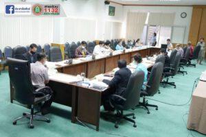 30 พ.ย.63 ประชุมคณะกรรมการบริหารกองทุนหลักประกันสุขภาพ