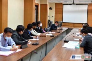 5 ม.ค.64 ประชุมติดตามงาน โครงการปรับปรุงผิวจราจร