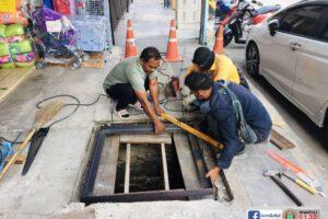 4 ก.พ.64 ฝาบ่อพักท่อระบายน้ำ
