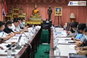 10 มี.ค.64 ประชุมเตรียมความพร้อมการเลือกตั้งสมาชิกสภาเทศบาลและนายกเทศมนตรีนครนครราชสีมา