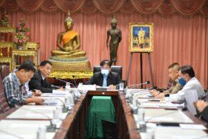 26 มี.ค.64 ประชุมเตรียมความพร้อมการจัดการเลือกตั้งสมาชิกสภาเทศบาลและนายกเทศมนตรีนครนครราชสีมา