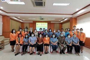 23 มี.ค.64 ประชุมปรึกษาหารือ การดูแล ติดตามนักเรียนที่หนีเรียน