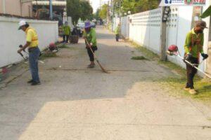 2 เม.ย.64 ลงพื้นที่ทำความสะอาด