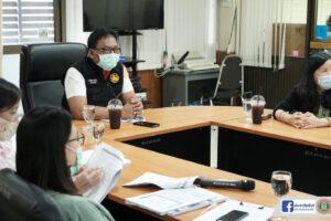28 เม.ย.64 ประชุมคณะทำงานประเมินคุณธรรมและความโปร่งใส