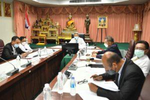 9 มิ.ย.64 รายงานผลการดำเนินงานเพื่อรับมอบนโนยบายสำนักการประปา