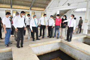 9 มิ.ย.64 ตรวจโรงกรองผลิตน้ำประปามะขามเฒ่า