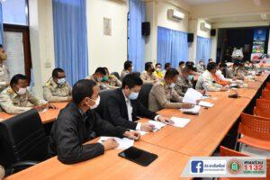14 มิ.ย.64 ร่วมประชุมเตรียมการป้องกันและแก้ไขปัญหาน้ำท่วม
