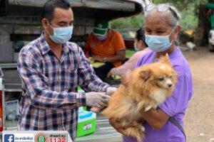 18 มิ.ย.64 บริการฉีดวัคซีนป้องกันโรคพิษสุนัขบ้า