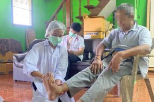 18 มิ.ย.64 ลงพื้นที่ติดตามเยี่ยมผู้ป่วย