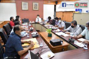 22 มิ.ย.64 ประชุมสำนักการประปาเทศบาล