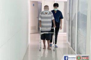 24 มิ.ย.64 ลงพื้นที่เพื่อฟื้นฟูผู้ป่วยติดเตียงและผู้ป่วยเข้ามารับบริการ
