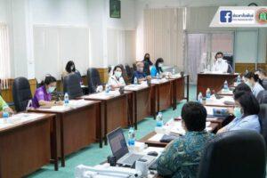 23 ก.ค.64 ประชุมเสริมสร้างการมีส่วนร่วมการดำเนินงานกลไกคุ้มครองสิทธิในระบบหลักประกันสุขภาพแห่งชาติ