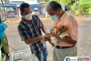 23 ก.ค.64 รณรงค์ฉีดวัคซีนป้องกันโรคพิษสุนัขบ้า
