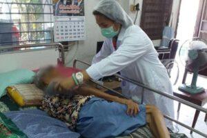 29 ก.ค.64 ลงพื้นที่เยี่ยมผู้ป่วยและฉีดวัคซีนไข้หวัดใหญ่