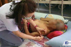 29 ก.ค.64 ลงฉีดวัคซีนป้องกันโควิด ให้กับผู้ป่วยติดเตียง