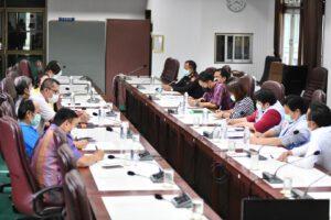 17 ก.ย.64 ประชุมวางมาตรการตลาดป้องกันโควิด-19ในเขตเทศบาล