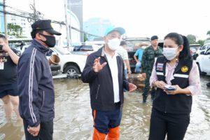 20 ต.ค.64 ลงพื้นที่ช่วยเหลือพี่น้องประชาชนที่ได้รับผลกระทบจากน้ำท่วม
